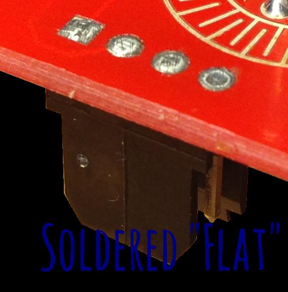 BERG soldered flat