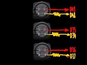 button rear connection